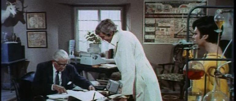 кадр из фильма Комната страха (1968)