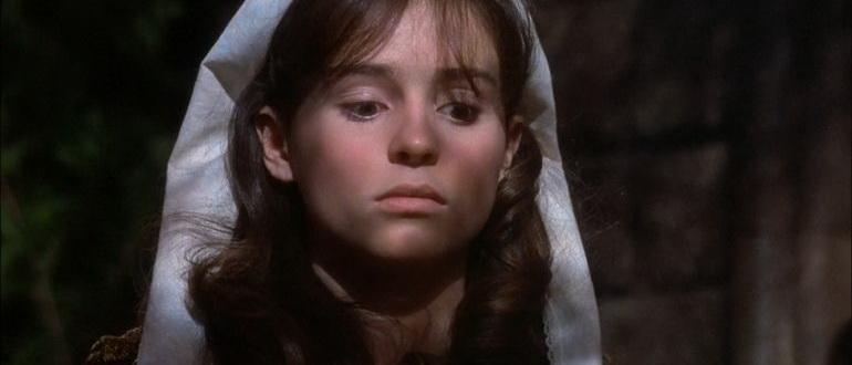 сцена из фильма В компании волков (1984)