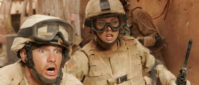 кадр из фильма У холмов есть глаза 2 (2007)