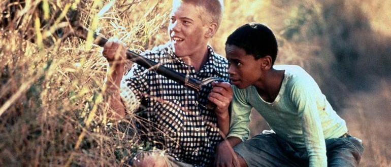сцена из фильма Невероятные приключения Янки в Африке (1993)