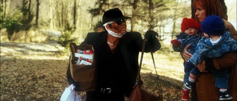 сцена из фильма Темная половина (1993)