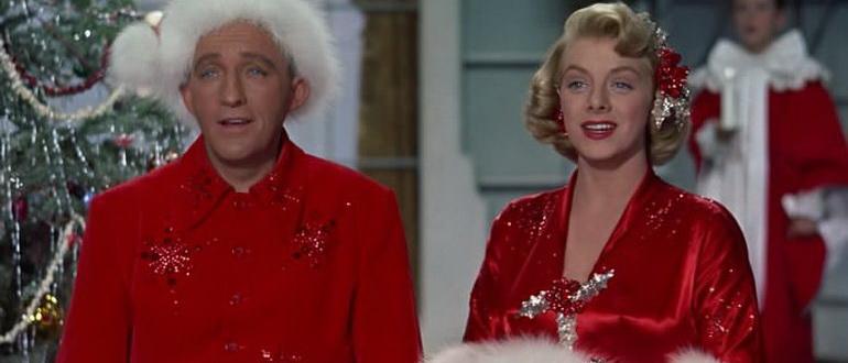 сцена из фильма Светлое Рождество (1954)