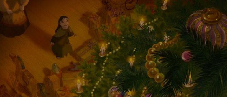 сцена из фильма Девочка со спичками (2006)