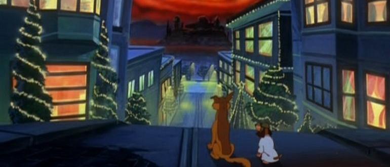 персонажи из фильма Все собаки празднуют Рождество (1998)