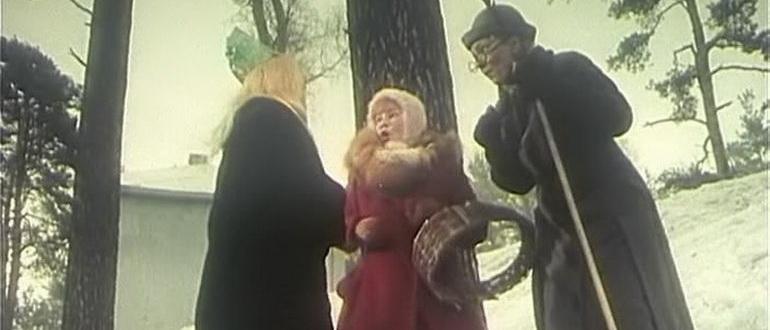 кадр из фильма Снежная сказка (1959)