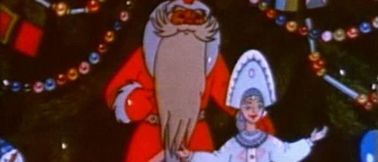 мультфильмы зимние и новогодние советские