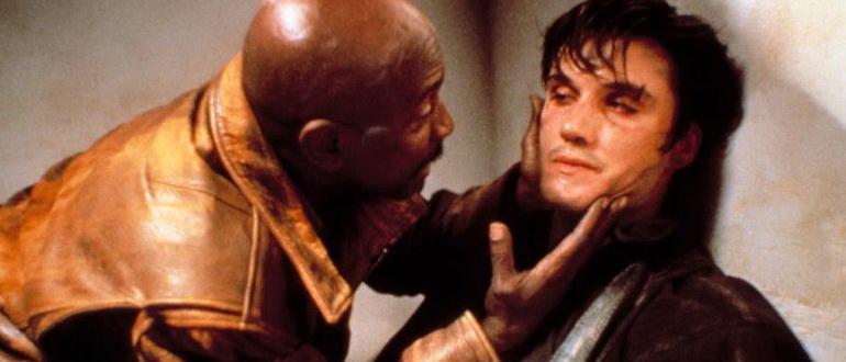 сцена из фильма Каратель (1989)