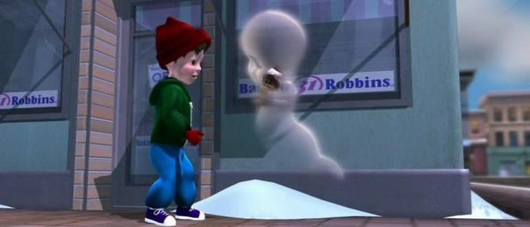 сцена из фильма Каспер: Рождество призраков (2000)