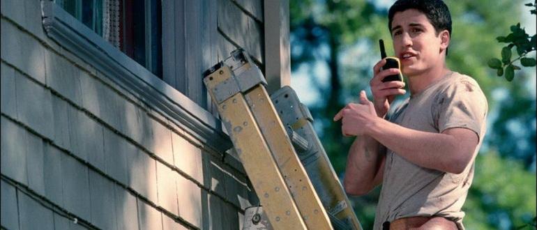 сцена из фильма Американский пирог 2 (2001)