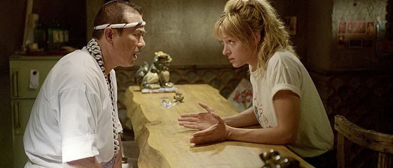кадр из фильма Убить Билла (2003)