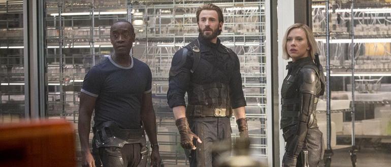 кадр из фильма Мстители: Война бесконечности (2018)