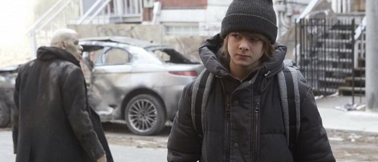 сцена из сериала Штамм (2014)