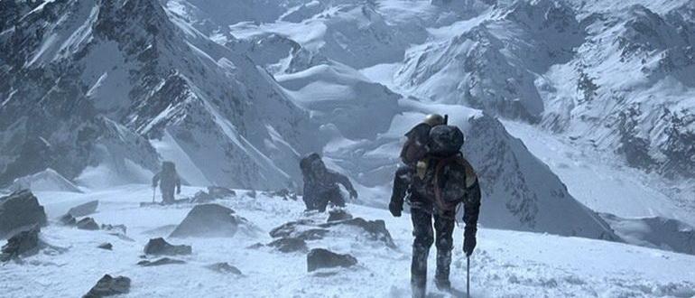 фильмы про горы и снег