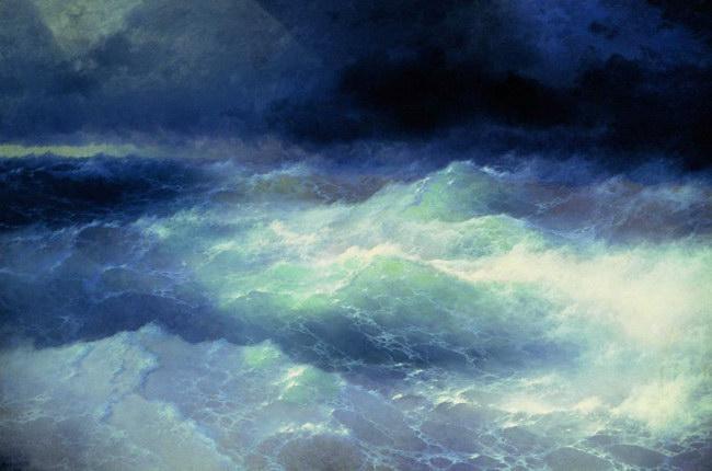 Среди волн (1898)