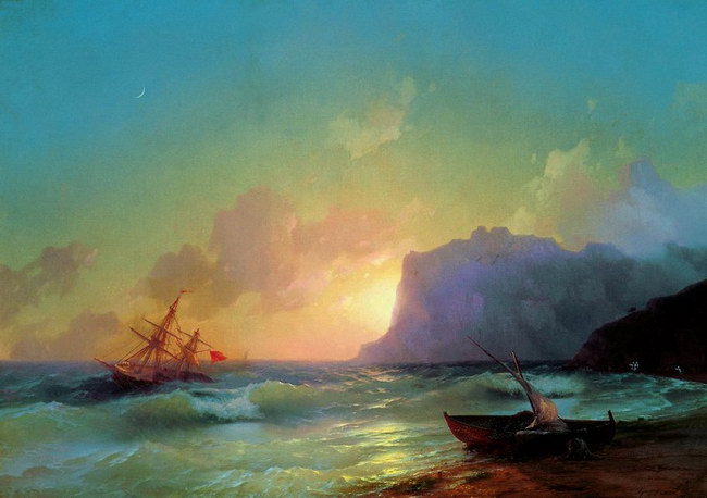 Море. Коктебельская бухта (1853)