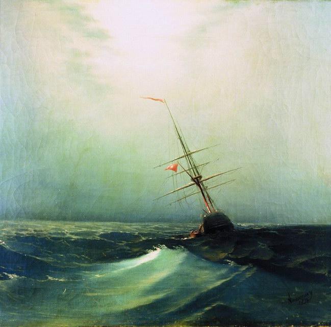 Ночь. Голубая волна (1876)