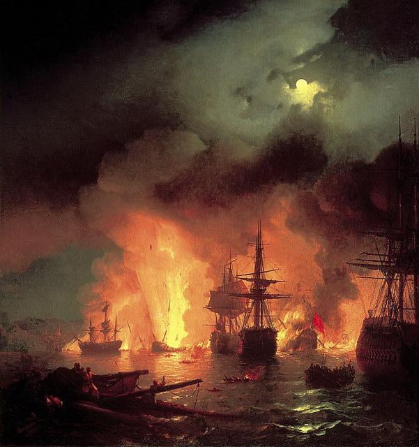 Чесменский бой (1848)