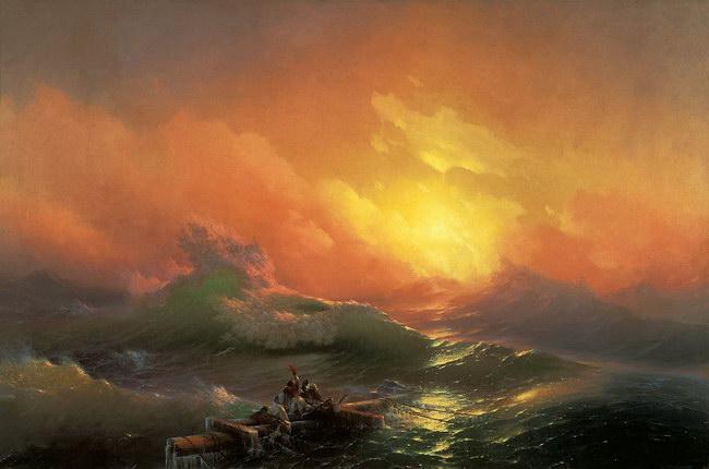 Девятый вал (1850)