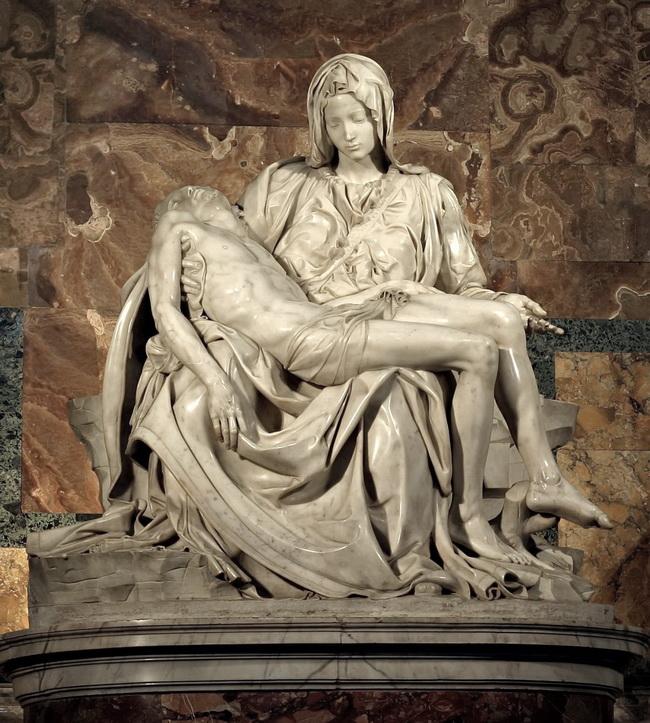 Пьета «Оплакивание Христа» (1499)