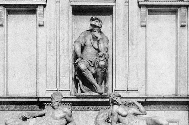 Скульптура Лоренцо Медичи (1526 - 1534)
