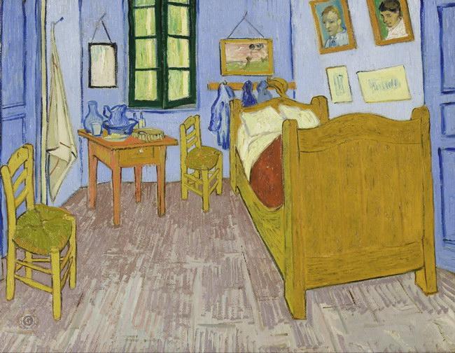 Винсент Ван Гог: произведения Спальня Винсента в Арле (1889)