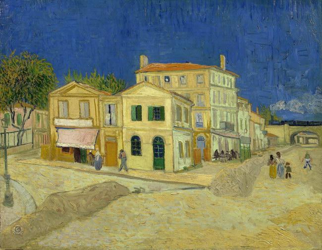 Винсент Ван Гог: Дом Винсента в Арле (Желтый дом) (1888)