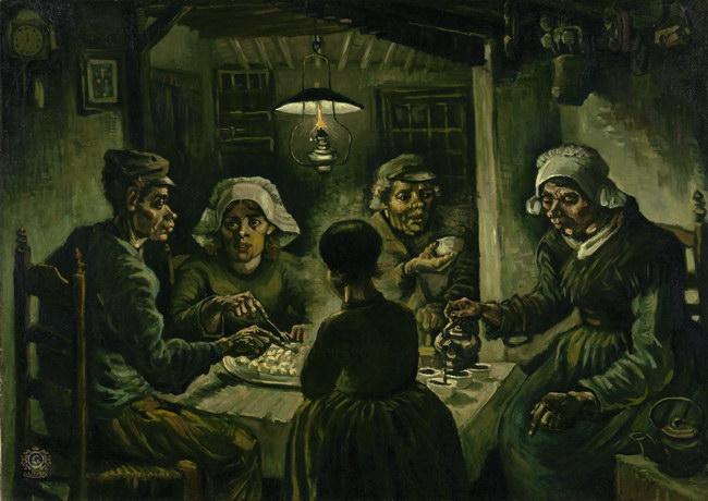 Винсент Ван Гог: Едоки картофеля (1885)