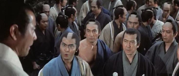 герои из фильма Шинсенгуми (1969)