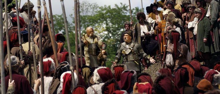 персонажи из фильма Тарас Бульба (2009)