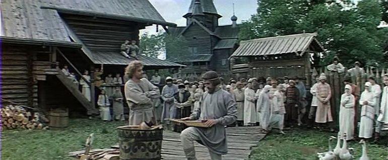 сцена из фильма Василий Буслаев (1983)
