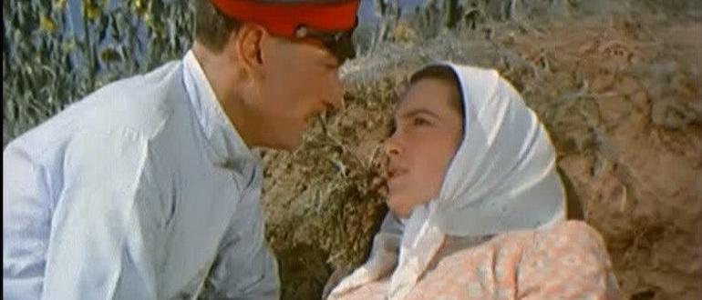 сцена из фильма Тихий Дон (1957)