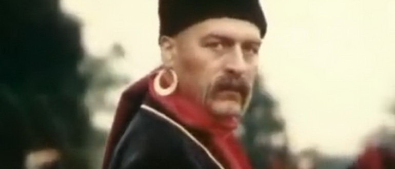 герой из фильма Черная долина (1990)