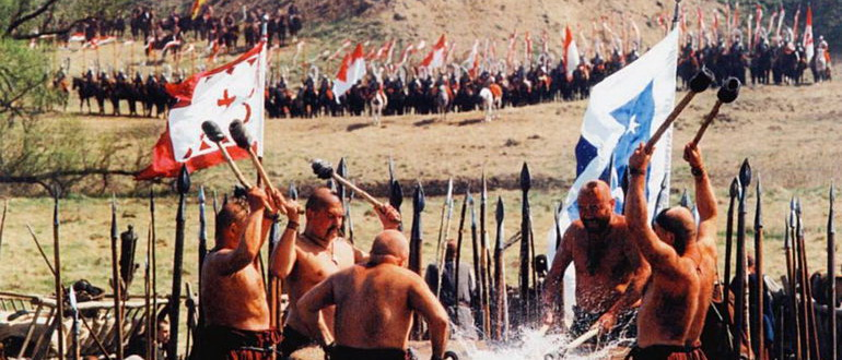 кадр из фильма Огнем и мечом (1999)