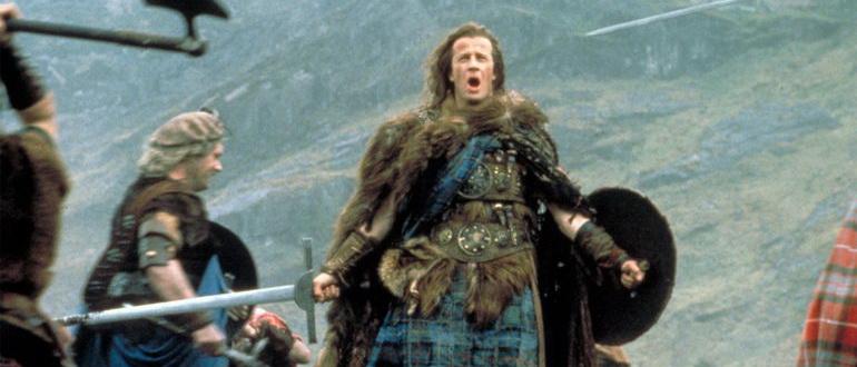 сцена из фильма Горец (1986)