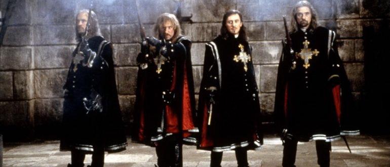 кадр из фильма Человек в железной маске (1998)