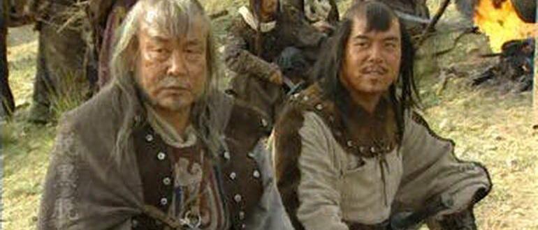 сцена из фильма Чингисхан (2004)