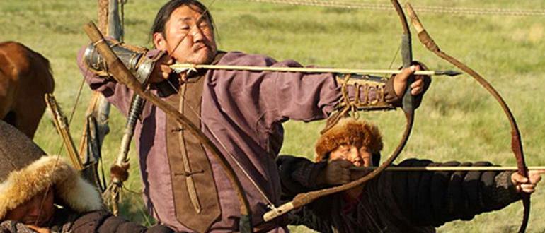 сцена из фильма Тайна Чингисхана (2002)