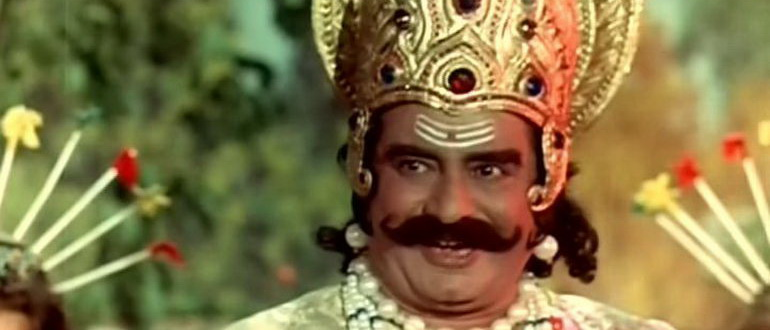персонаж из фильма Хануман - вождь обезьян (1981)