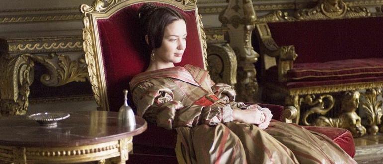 сцена из фильма Молодая Виктория (2009)