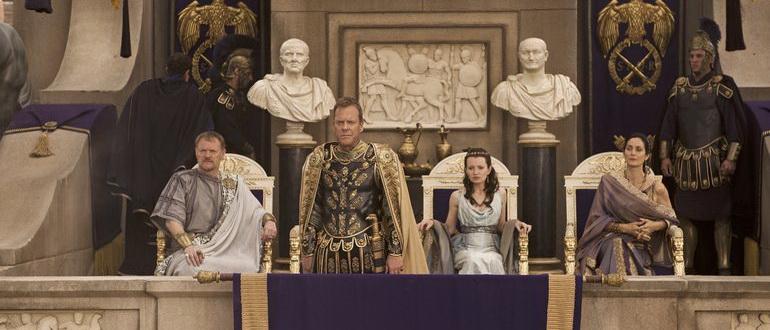 персонажи из фильма Помпеи (2014)