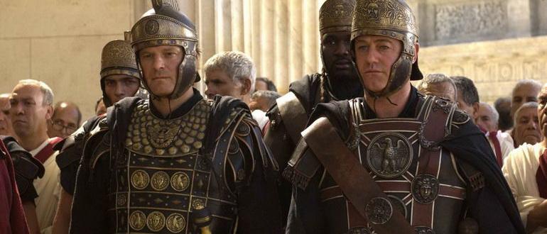 герои из фильма Последний легион (2007)