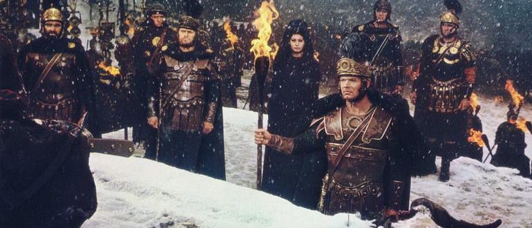 кадр из фильма Падение Римской империи (1964)