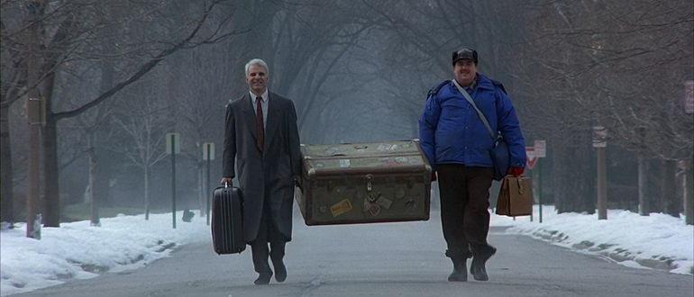 кадр из фильма Самолетом, поездом, машиной (1987)