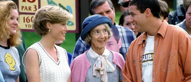 персонажи из фильма Счастливчик Гилмор (1996)