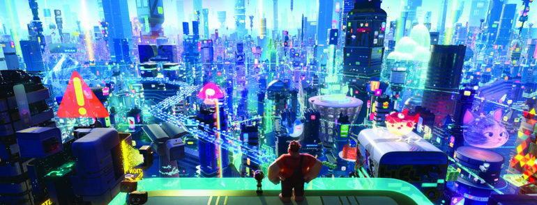 сцена из мультфильма Ральф против интернета (2018)