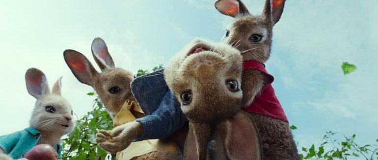кадр из мультфильма Кролик Питер (2018)