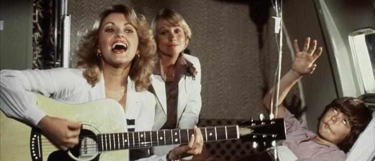 сцена из фильма Аэроплан (1980)