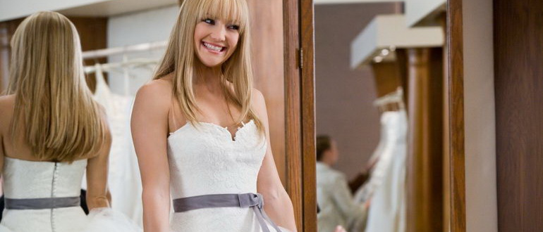 сцена из фильма Война невест (2009)