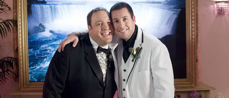 комедия Чак и Ларри: Пожарная свадьба (2007)