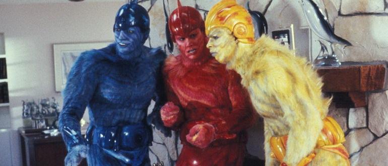 сцена из фильма Земные девушки легко доступны (1988)